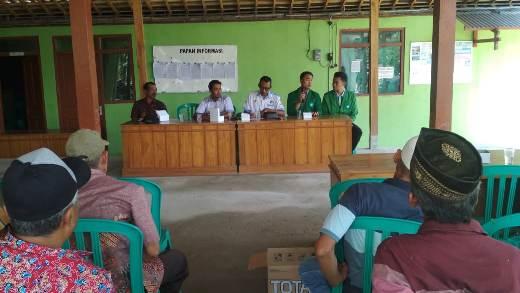 Pertemuan Ketua Rukun Tetangga dan Rukun Warga se Dusun Jawik